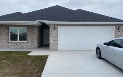 W. 26TH ST – NEW CONSTRUCTION! 3 BEDROOM 2 BATH IN WEST JOPLIN
