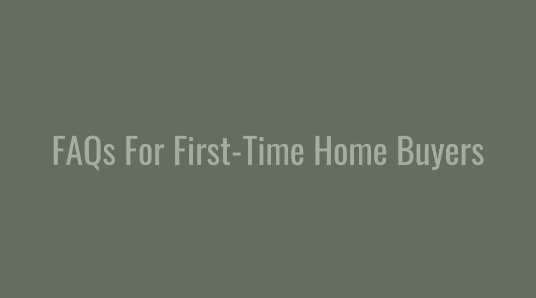 FAQs For First-Time Buyers | Joplin, MO.
